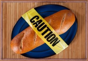Bread with Caution Tape